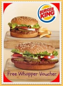 burger king burgers
