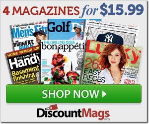 discount mags weekend sale