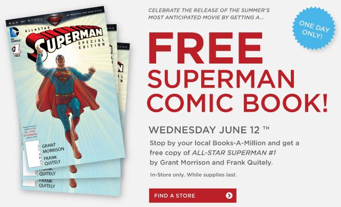 free superman comic book