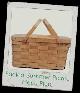 Summer Picnic Menu Plan
