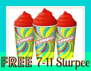 free 7 eleven slurpee