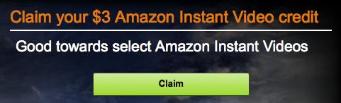 Amazon Movie Credit