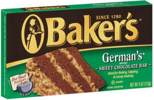 Baker's Chocolate Coupon