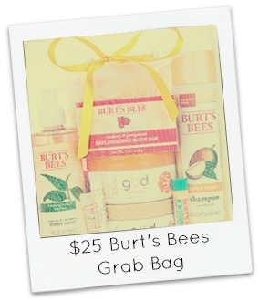 Burts Bees Grab Bag