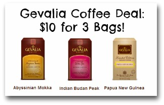 Gevalia Coffee Deal