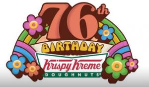 Krispy Kreme's Birthday