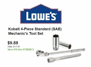 Lowe's deal