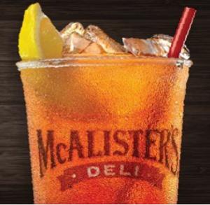 McAlister's Deli Free Tea Day 2013