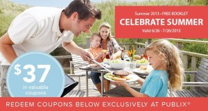 Publix Celebrate Summer Booklet