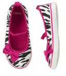 glitter zebra sneaker