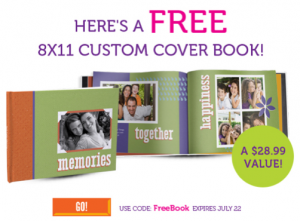 York Coupon Code for Free Photo Book