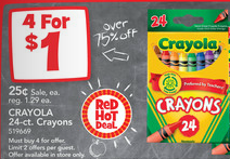 Toys R Us Crayons