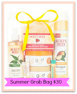 burts bees summer grab bag