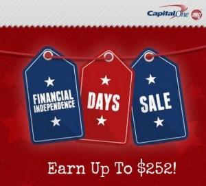 capital one sale