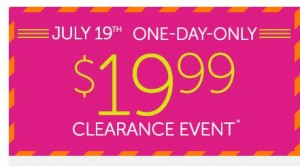 crocs clearance event