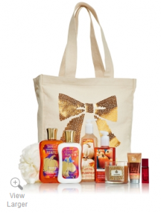 bath & body works fall vip tote