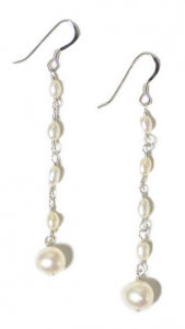 The Pearl Girls Earrings - Southern Savers