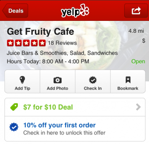 Yelp Offers