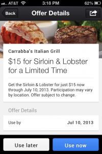 Google Offers App