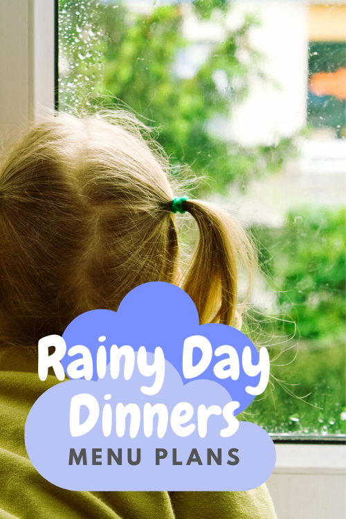 When you're stuck inside all day, you don't want to make something complicate for supper. These rainy day dinners are perfect for those days!