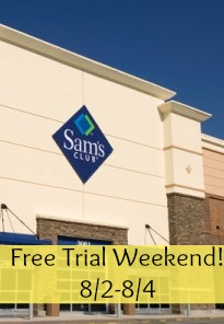 sam's club free trial
