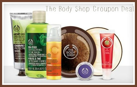 the body shop groupon deal