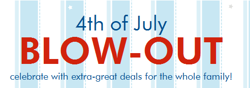 zulily fourth of july blowout sale