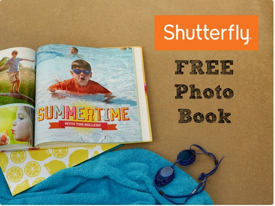 There is a new Shutterfly coupon code being offered for a FREE 8x11 hardcover photo book!