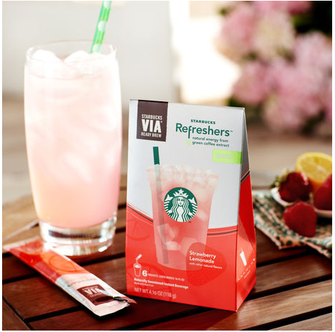 Starbucks store coupon Refreshers