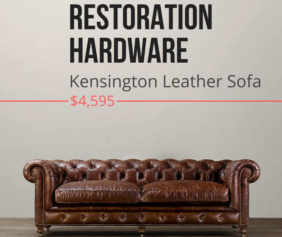 Restoration Hardware Look Alike Furnure Kensington