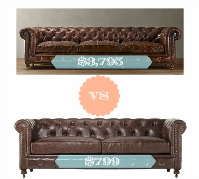 Superb Restoration Hardware Kensington Sofa Look Alike   Southern Savers