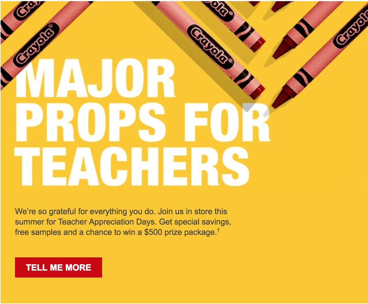 Staples teacher discount