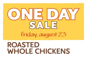 whole foods one day sale 8/23