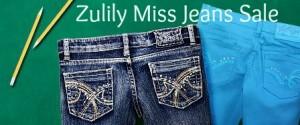 zulily jeans sale