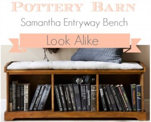 Pottery Barn Samantha Bench Look Alike - Southern Savers