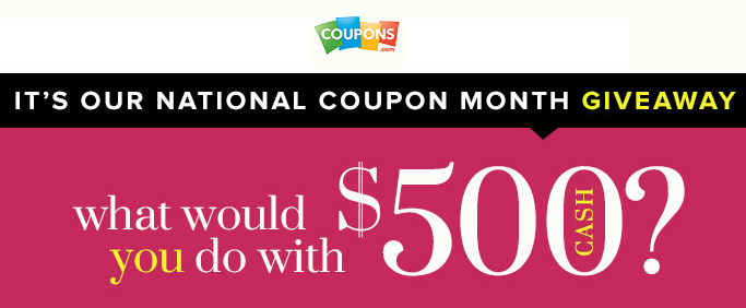 couponscom giveaway