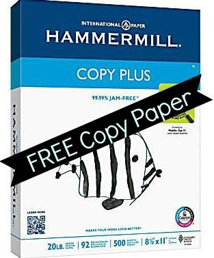 free copy paper