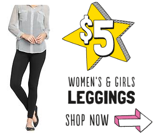 Old Navy Sale: $5 Leggings + Extra 35% Off Accessories + Super