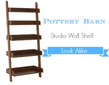 Pottery Barn Look Alike Studio Wall Shelf Southern Savers