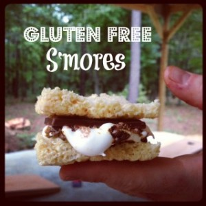 A simple easy way to make gluten-free s'mores!