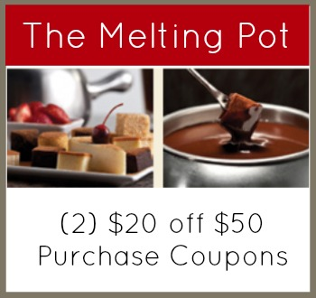 Melting pot coupons discounts