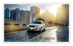 avis rental groupon