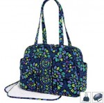baby bag in indigo pop