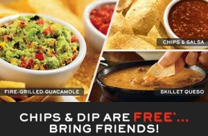 chilis freebies