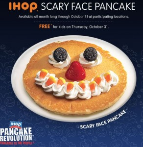ihop scary face