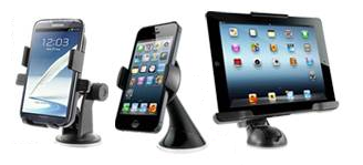 iottie car and desk mounts
