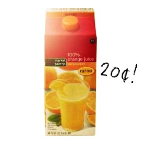 market pantry orange juice