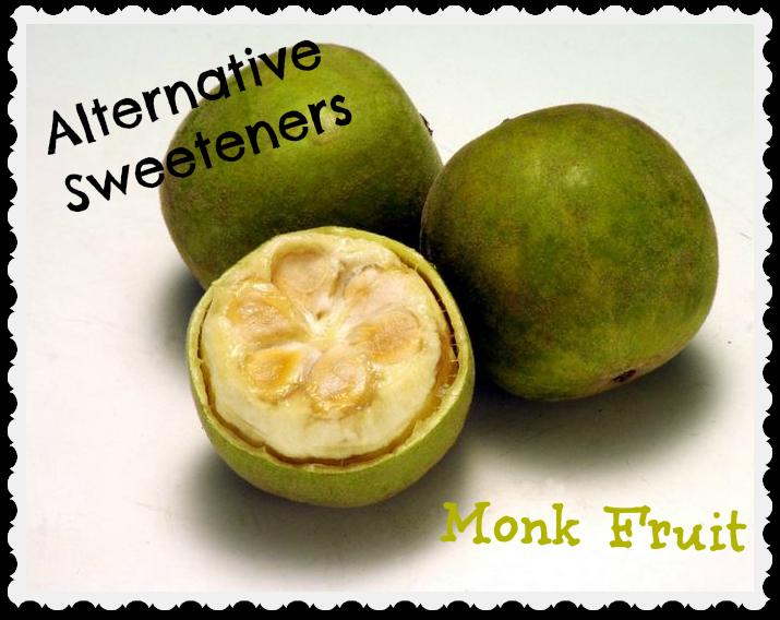 exotic fruit monk fruit sweetener