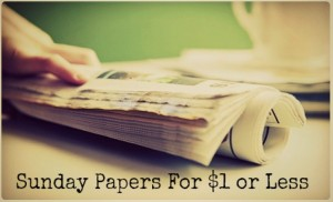 newspaper deals