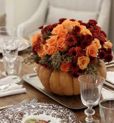 Here's a post on different ways to decorate your home using pumpkins!